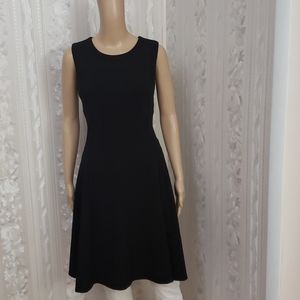 DKNY Sleeveless Flare Dress